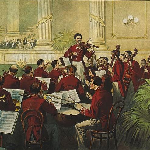 Az ifjabb Johann Strauss, aki a vendéglőből a koncertterembe hozta a keringőt